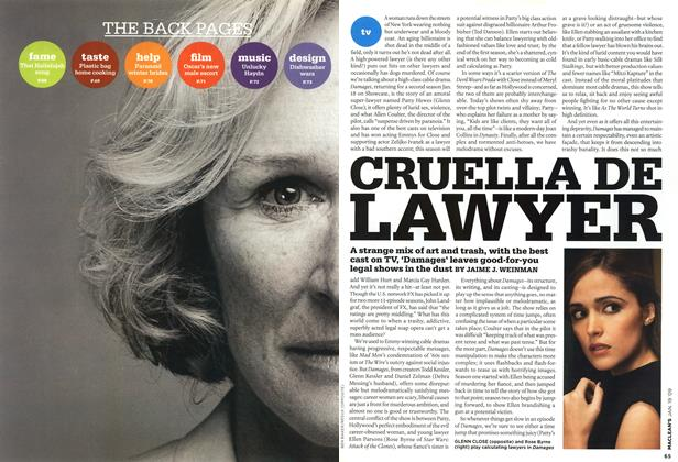 Article Preview: CRUELLA DE LAWYER, JAN. 19th 2009 2009 | Maclean's