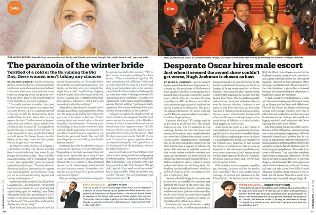 Article Preview: Desperate Oscar hires male escort, JAN. 19th 2009 2009 | Maclean's