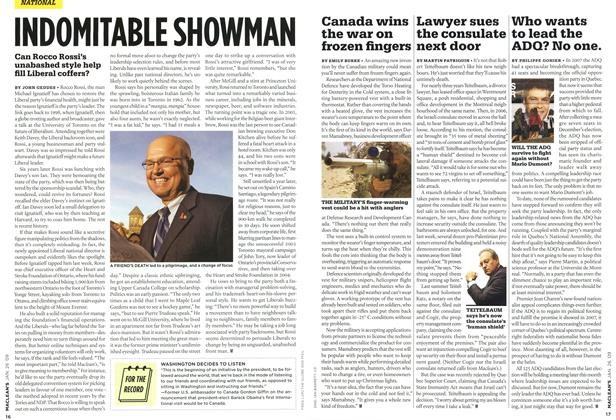 Article Preview: INDOMITABLE SHOWMAN, JAN. 26th 2009 2009 | Maclean's