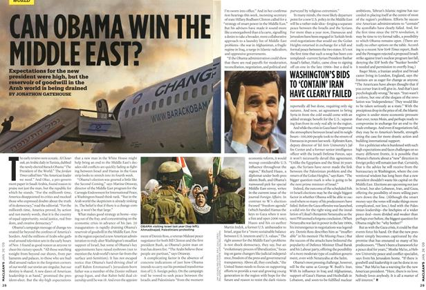 Article Preview: CAN OBAMA WIN THE MIDDLE EAST?, JAN. 26th 2009 2009 | Maclean's