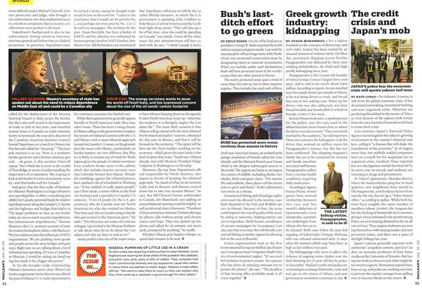 Article Preview: Greek growth industry: kidnapping, JAN. 26th 2009 2009 | Maclean's