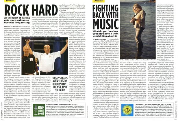 Article Preview: ROCK HARD, JAN. 26th 2009 2009 | Maclean's