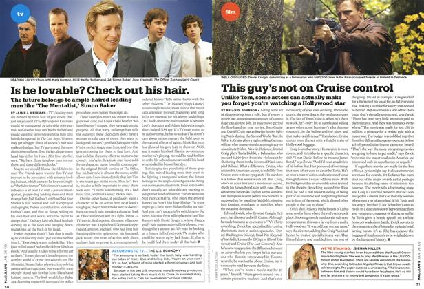 Article Preview: Is he lovable? Check out his hair., JAN. 26th 2009 2009 | Maclean's