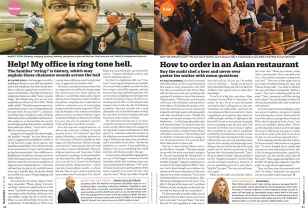 Article Preview: Help! My office is ring tone hell., JAN. 26th 2009 2009 | Maclean's