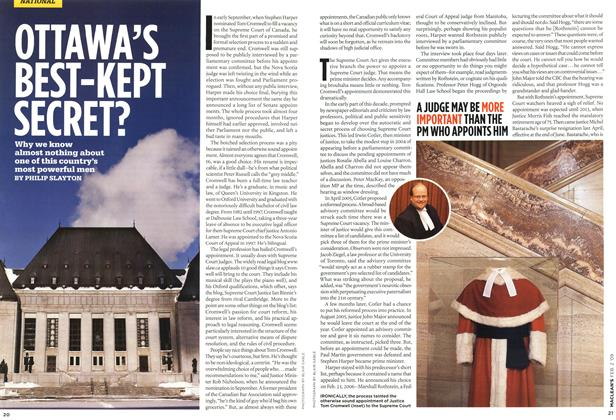 Article Preview: OTTAWA'S BEST-KEPT SECRET?, FEB. 2nd 2009 2009 | Maclean's