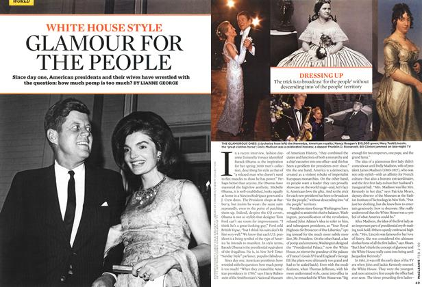 Article Preview: WHITE HOUSE STYLE GLAMOUR FOR THE PEOPLE, FEB. 2nd 2009 2009 | Maclean's