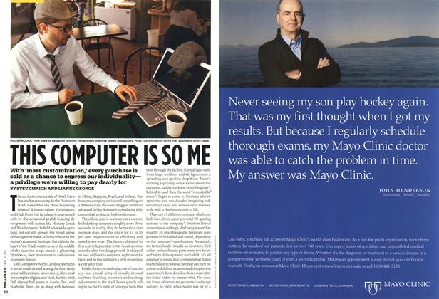 Article Preview: THIS COMPUTER IS SO ME, FEB. 2nd 2009 2009 | Maclean's
