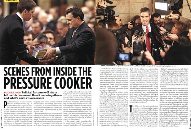 Article Preview: SCENES FROM INSIDE THE PRESSURE COOKER, FEB. 9th 2009 2009 | Maclean's