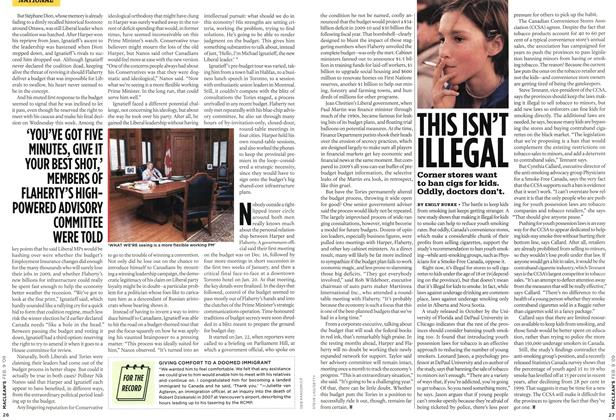 Article Preview: THIS ISN'T ILLEGAL, FEB. 9th 2009 2009 | Maclean's