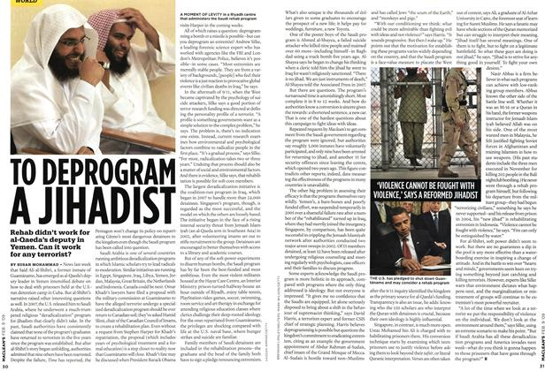 Article Preview: TO DEPROGRAM A JIHADIST, FEB. 9th 2009 2009 | Maclean's