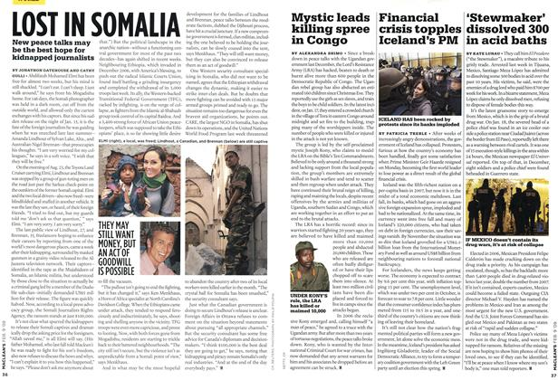 Article Preview: LOST IN SOMALIA, FEB. 9th 2009 2009 | Maclean's