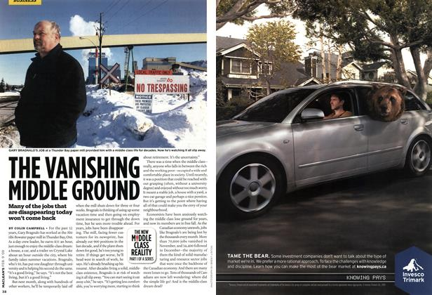 Article Preview: THE VANISHING MIDDLE GROUND, FEB. 9th 2009 2009 | Maclean's