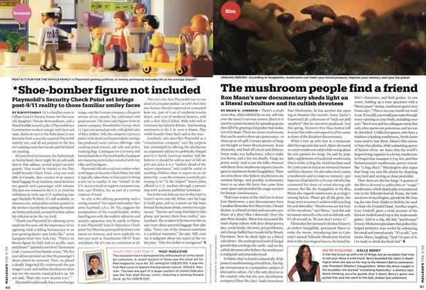 Article Preview: The mushroom people find a friend, FEB. 9th 2009 2009 | Maclean's