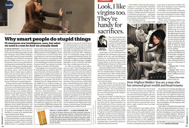Article Preview: Look, I like virgins too. They're handy for sacrifices., FEB. 9th 2009 2009 | Maclean's
