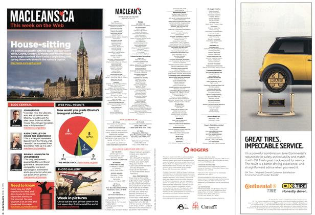 Article Preview: Advertisement, FEB. 9th 2009 2009 | Maclean's