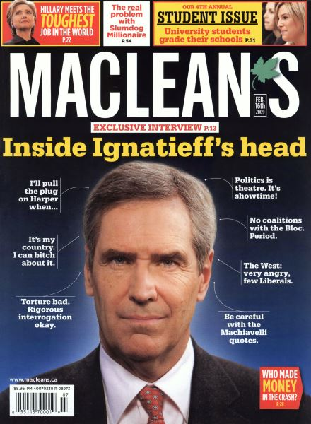 Issue: - FEB. 16th 2009 | Maclean's