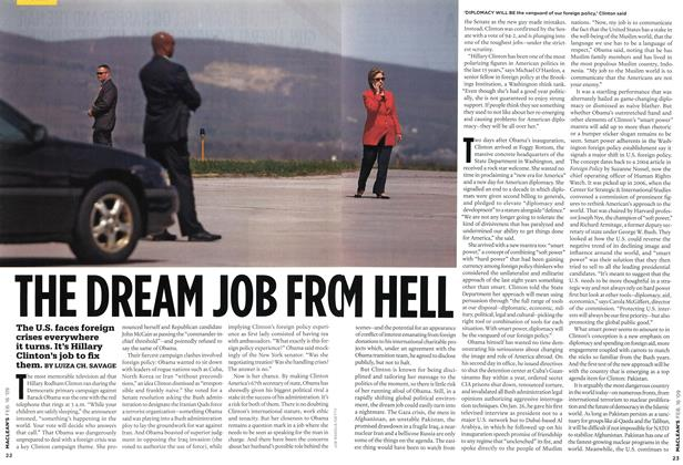 Article Preview: THE DREAM JOB FROM HELL, FEB. 16th 2009 2009 | Maclean's