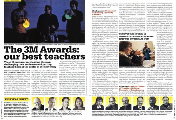 Article Preview: The 3M Awards: our best teachers, FEB. 16th 2009 2009 | Maclean's