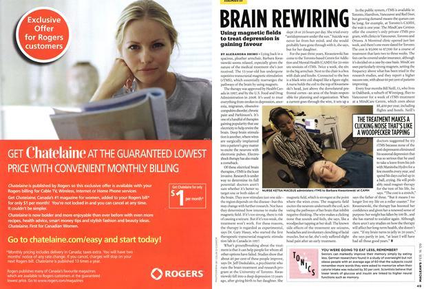 Article Preview: BRAIN REWIRING, FEB. 16th 2009 2009 | Maclean's