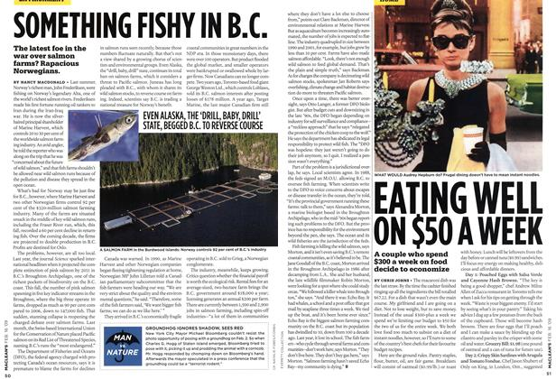 Article Preview: SOMETHING FISHY IN B.C., FEB. 16th 2009 2009 | Maclean's