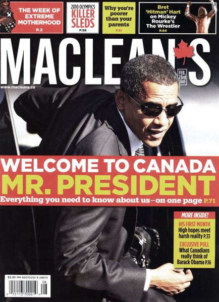 Issue: - FEB. 23rd 2009 | Maclean's