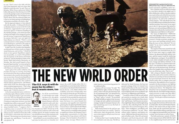 Article Preview: THE NEW WO RLD ORDER, FEB. 23rd 2009 2009 | Maclean's