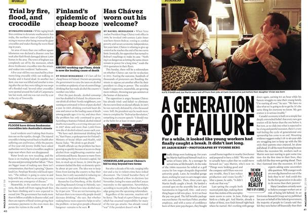 Article Preview: A GENERATION OF FAILURE, FEB. 23rd 2009 2009 | Maclean's