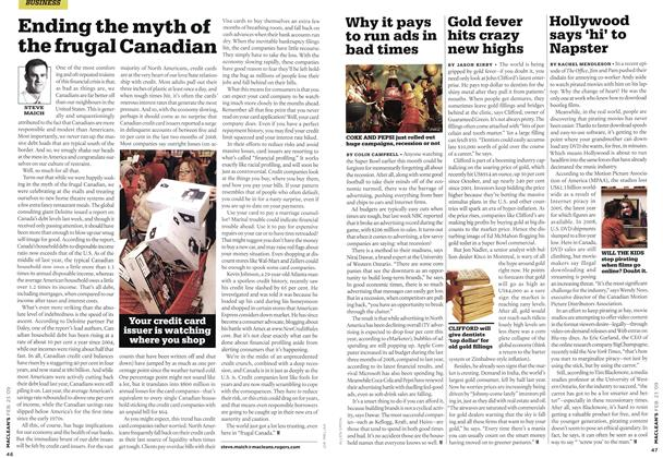 Article Preview: Gold fever hits crazy new highs, FEB. 23rd 2009 2009 | Maclean's