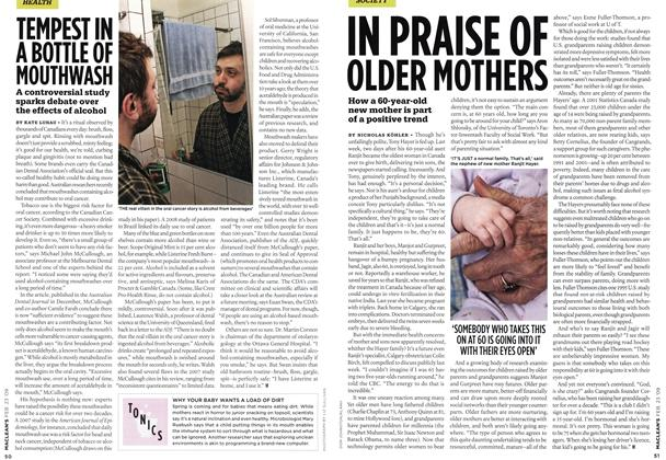 Article Preview: IN PRAISE OF OLDER MOTHERS, FEB. 23rd 2009 2009 | Maclean's