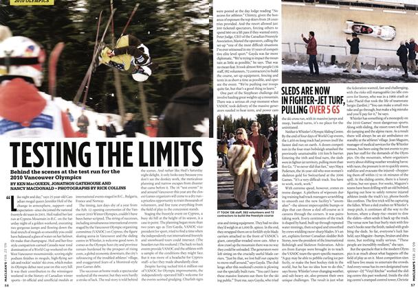 Article Preview: TESTING THE LIMITS, FEB. 23rd 2009 2009 | Maclean's