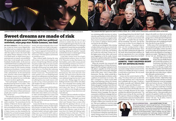 Article Preview: Sweet dreams are made of risk, FEB. 23rd 2009 2009 | Maclean's