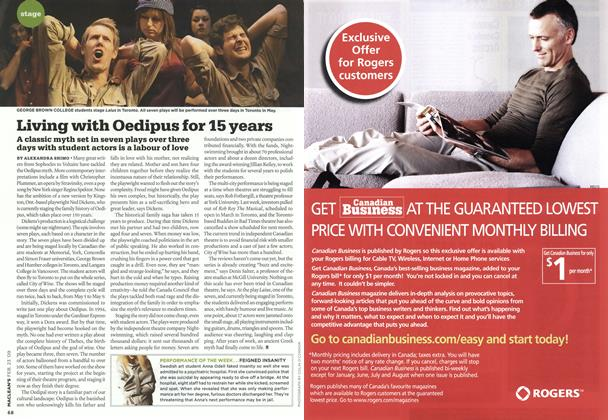 Article Preview: Living with Oedipus for 15 years, FEB. 23rd 2009 2009 | Maclean's
