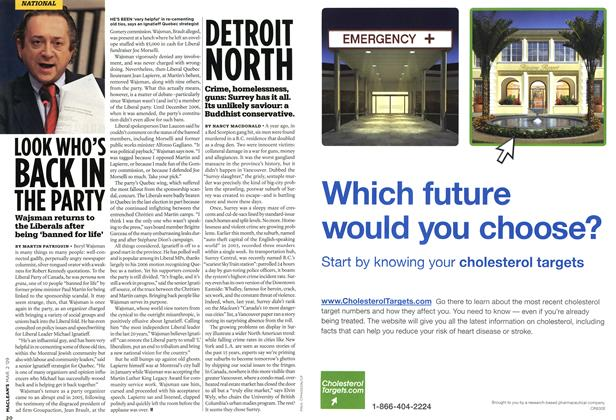 Article Preview: DETROIT NORTH, MAR. 2nd 2009 2009 | Maclean's