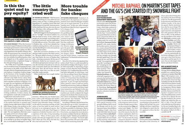 Article Preview: The little country that cried wolf, MAR. 2nd 2009 2009 | Maclean's