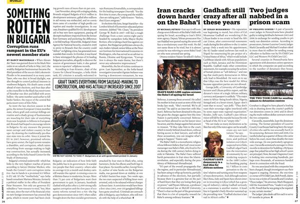 Article Preview: Iran cracks down harder on the Baha'i, MAR. 2nd 2009 2009 | Maclean's
