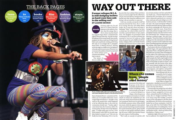 Article Preview: WAY OUT THERE, MAR. 2nd 2009 2009 | Maclean's
