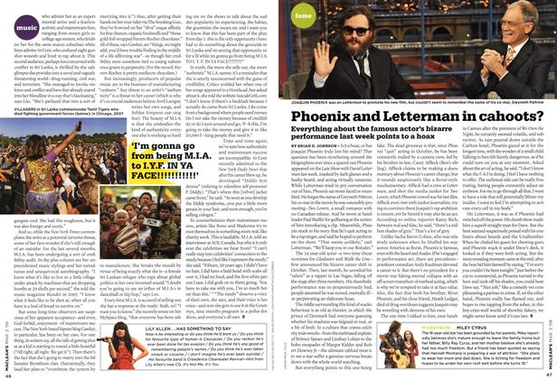 Article Preview: Phoenix and Letterman in cahoots?, MAR. 2nd 2009 2009 | Maclean's