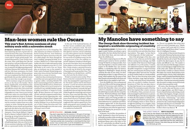 Article Preview: My Manolos have something to say, MAR. 2nd 2009 2009 | Maclean's