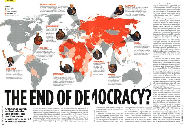 Article Preview: THE END OF DEMOCRACY?, MAR. 9th 2009 2009 | Maclean's