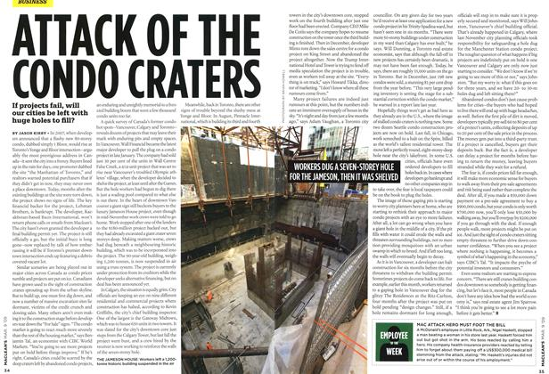 Article Preview: ATTACK OF THE CONDO CRATERS, MAR. 9th 2009 2009 | Maclean's