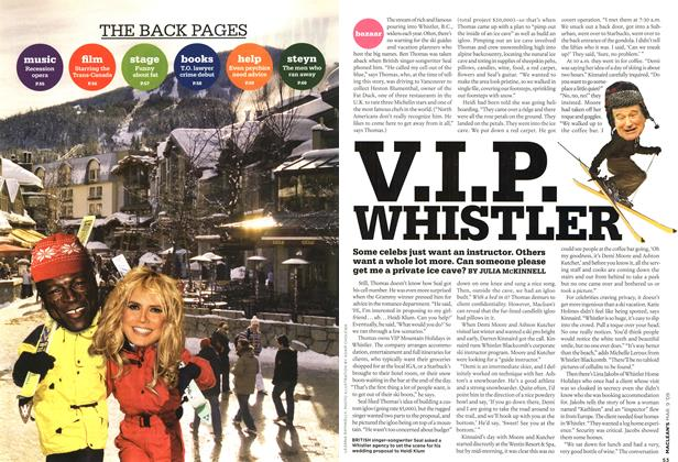 Article Preview: V.I.P. WHISTLER, MAR. 9th 2009 2009 | Maclean's