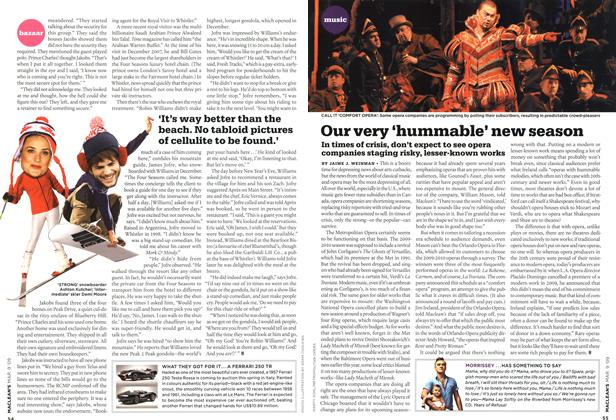 Article Preview: Our very 'hummable' new season, MAR. 9th 2009 2009 | Maclean's