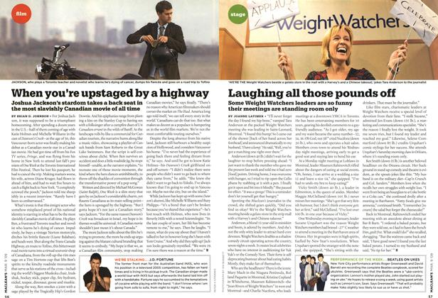 Article Preview: Laughing all those pounds off, MAR. 9th 2009 2009 | Maclean's