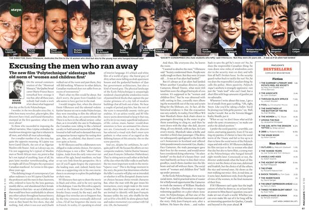 Article Preview: Excusing the men who ran away, MAR. 9th 2009 2009 | Maclean's