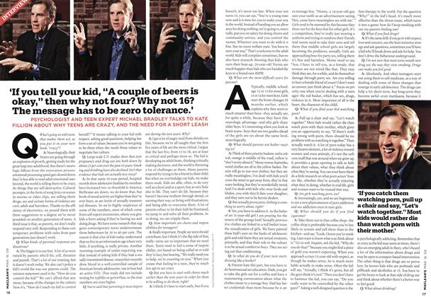 Article Preview: INTERVIEW, MAR. 16th 2009 2009 | Maclean's