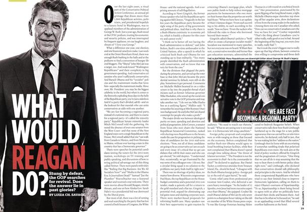Article Preview: WHAT WOULD REAGAN DO?, MAR. 16th 2009 2009 | Maclean's