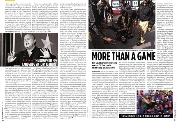 Article Preview: MORE THAN A GAME, MAR. 16th 2009 2009 | Maclean's