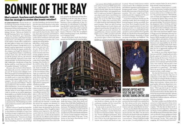 Article Preview: BONNIE OF THE BAY, MAR. 16th 2009 2009 | Maclean's