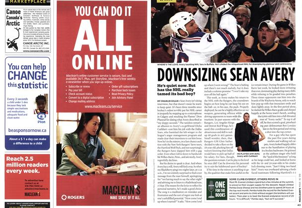 Article Preview: DOWNSIZING SEAN AVERY, MAR. 16th 2009 2009 | Maclean's