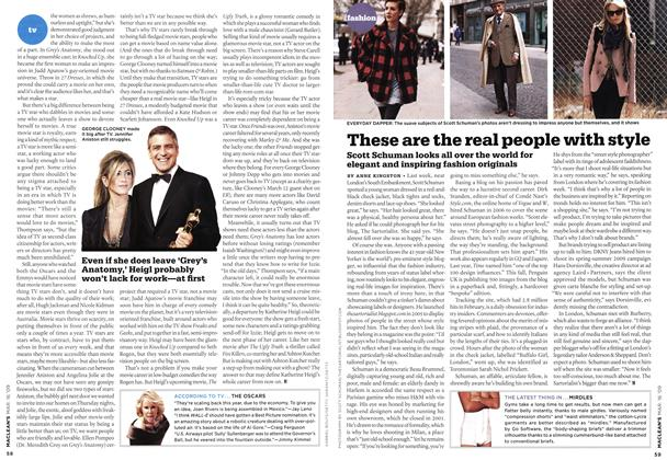 Article Preview: These are the real people with style, MAR. 16th 2009 2009 | Maclean's